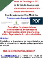 Conceitos Fundamentais de Termodinâmica