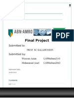 Final Report of managerial Economics