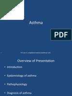 ASTHMA Approved Slide Set