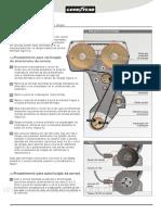 Manual troca de Correia Dentada Tempra 16v