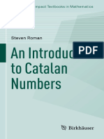 (Compact Textbooks in Mathematics) Steven Roman - An Introduction to Catalan Numbers-Birkhäuser (2015).pdf