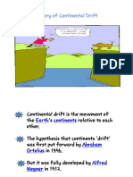 Continenetal Drift Theory