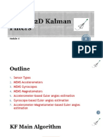 Module 4 - 1D Kalman Filters for Orientation