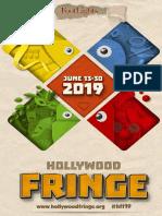 2019 Hollywood Fringe Guide