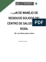 PLAN DE MANEJO DE RESIDUOS SOLIDOS DEL CENTRO DE SALUD SANTA ROSA.docx