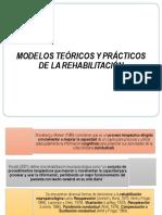 modelos teóricos y prácticos de rehabilitación