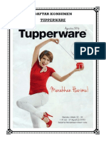 Cover Tupperware