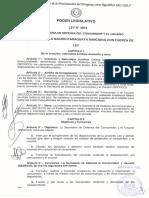 Ley N-¦ 5427_2015 ÔÇ£Que modifica el art+¡culo 28 de la Ley N-¦ 1.334_98 De Defensa del Consumidor y del UsuarioÔÇØ