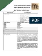 Ficha Tecnica De la Pituca