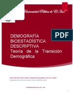 Texto Teoria de La Transición Demográfica