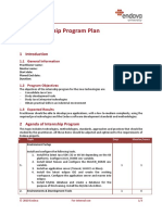 Internship Program Plan