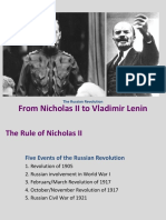 Nick II and Lenin PPT