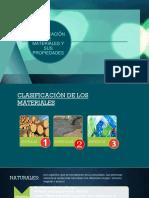 Clasificación de Materiales y Sus Propiedades