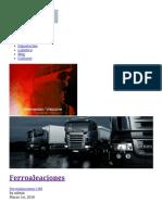 Ferroaleaciones, Ferro Aleaciones, Ferro-Aleaciones _ Elmet