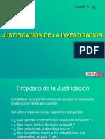 Clase 03 Justificacion