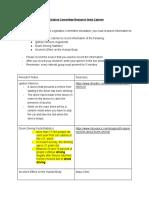 sarah fadel - legislative committee research note catcher