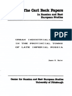 James H. Bater - Urban Industrialization in the Provincial Towns (1986, Paper)