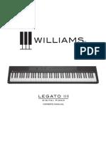 Williams Legato III Manual
