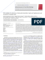 PCR múltiple. Salmonellosis