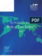 World Justice Project Rule of Law Index 2010