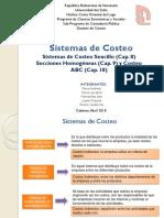 EXPOSICION DE CONTABILIDAD DE COSTOS