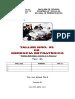 III Taller de Gerencia Estrategica (2)
