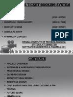 Presentation on online movie ticket booking system