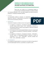 CRONOGRAMA DE IMPLEMENTACIÓN DE EXHORTACIONES Y RECOMENDACIONES REALIZADAS A LA MUNICIPALIDAD DISTRITAL DE MARCARÁ.docx