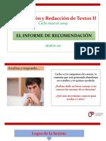 N04I 6A-El informe de recomendación- ciclo marzo 2019.pptx
