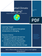 is the global climate changing   2019