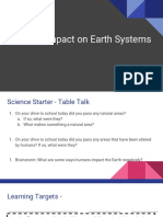 humans impact on earth systems 2019