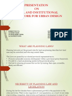 Presentation on Urban Design
