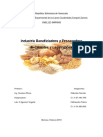 Industria Beneficiadora y Procesadora de Cereales y Leguminosas-Lab.vegetal 2