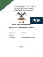 Informe Calculo Puentes Colgantes