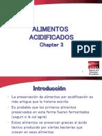 Capítulo 3 Alimentos Acidificados