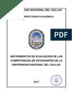 Instrumentos Evaluacion Competencias Estudiantes