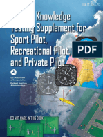 Airman Knowledge Testing Supplement for Sport Pilot, Rereational Pilot, and Private Pilot-OLD 2016.pdf