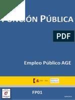 Sumario FP01 Empleo Público AGE