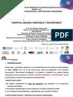 06 Hospital Seguro Habitable y Sustentable.