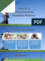 Comportamientos Parentales POSITIVOS 2
