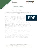 """04-05-2019 Asiste Gobernadora Pavlovich a exposición """"La Casa Irracional"""" de Pedro Friedeberg"""
