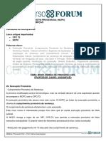 Processo Civil Daniel Assumpção Aula 11 Ncpc