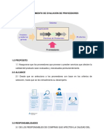 Evaluación de Proveedores ISO 9001