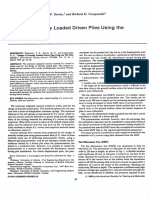 Design of Laterally Loaded Driven Piles Using the Flat Dilatometer