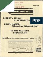 Movement Magazine June 16, 1972