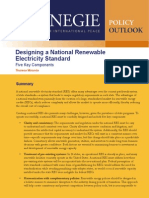 Designing a National Renewable Electricity Standard