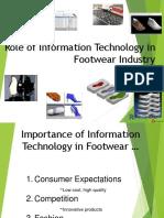 Role of Information Technlogy in Footwear