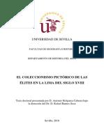 Holguera Cabrera, Antonio- El coleccionismo pictórico de las élites en la Lima del siglo XVIII.pdf