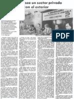 Edgard Romero Nava - Venezuela Poseeun Sector Privado Que Compite Con El Exterior - 1988