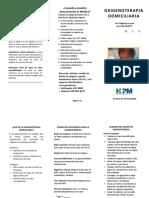 Triptico Oxigenoterapia HPM 2015